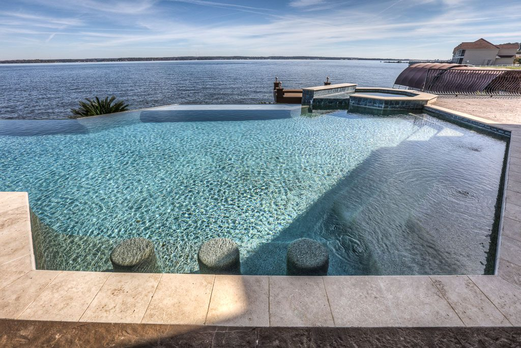 Pool Renovations make beautiful pools like this possible.