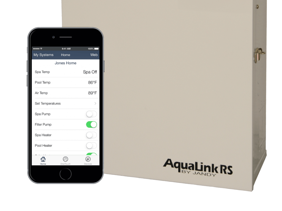 Jandy's aqualink pool control system is among the best for any swimming pool operating system upgrade.