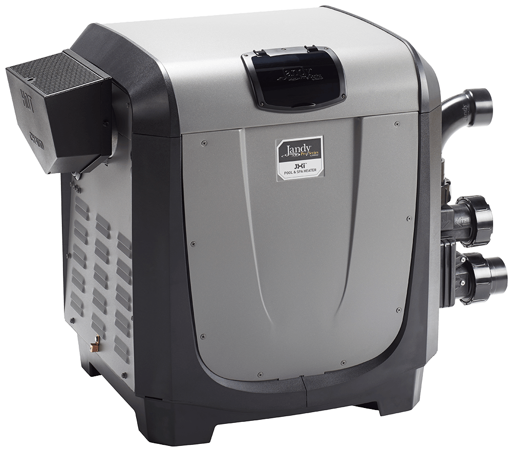 The Jandy JXi pool heater.